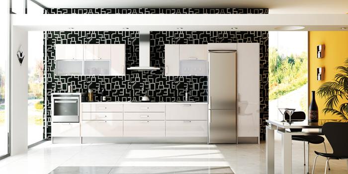 Cocina brillo - Vinilos para puertas de armarios de cocina ...