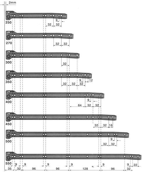 Схема установки ящика и расчет