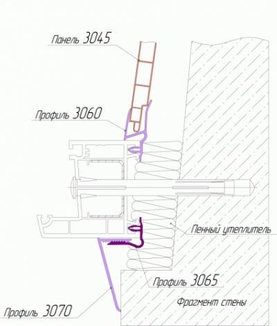 gealan схема монтажа: